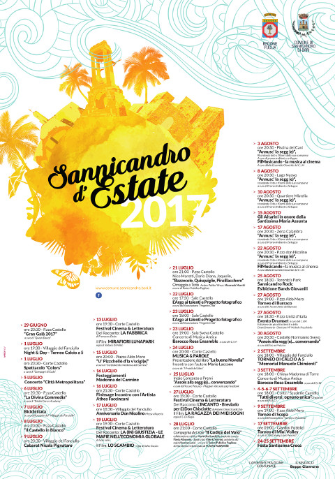 Sannicandro d'Estate 2017